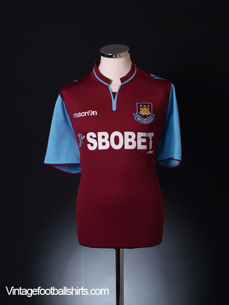 2012-13 West Ham Home Shirt S