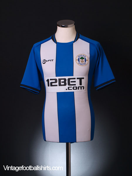 2012-13 Wigan '80 Years Anniversary' Home Shirt *As New* M