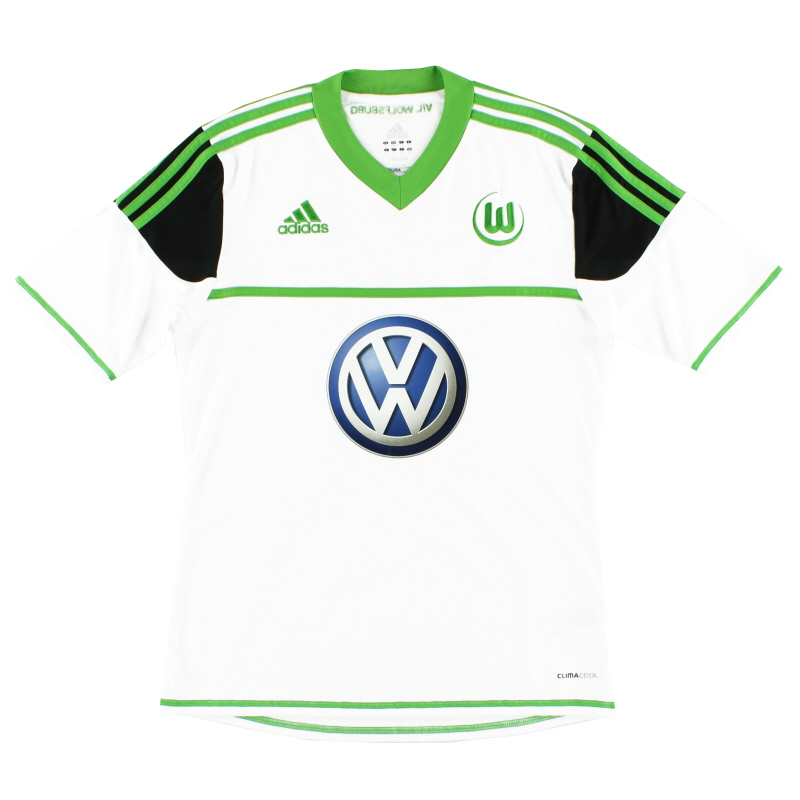 2012-13 Wolfsburg Away Shirt *Mint* S