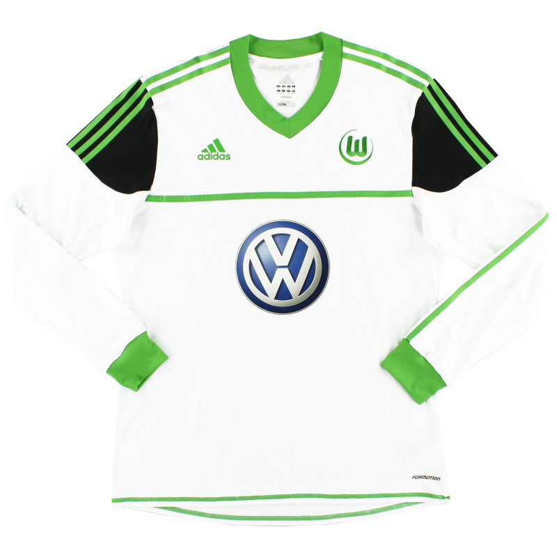 2012-13 Wolfsburg Formotion Away Shirt L/S XL - Z20915