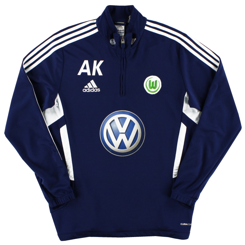 2012-13 Wolfsburg Training Top 'AK' L