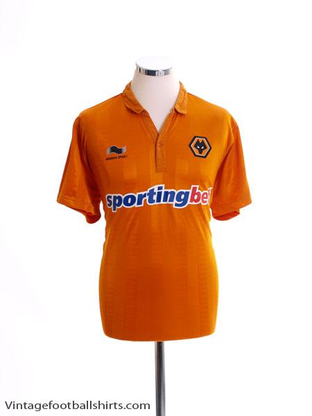 2012-13 Wolves Home Shirt L