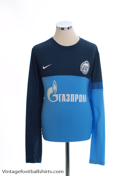 2012-13 Zenit St. Petersburg Nike Player Issue Training Jumper XL - 482718-412