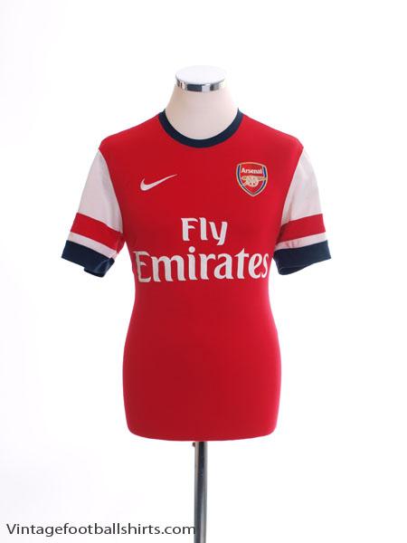 2012-14 Arsenal Home Shirt M - 479302-620
