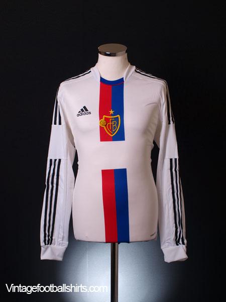 2012-14 FC Basel Player Issue Away Shirt L/S *BNIB* - Z11842