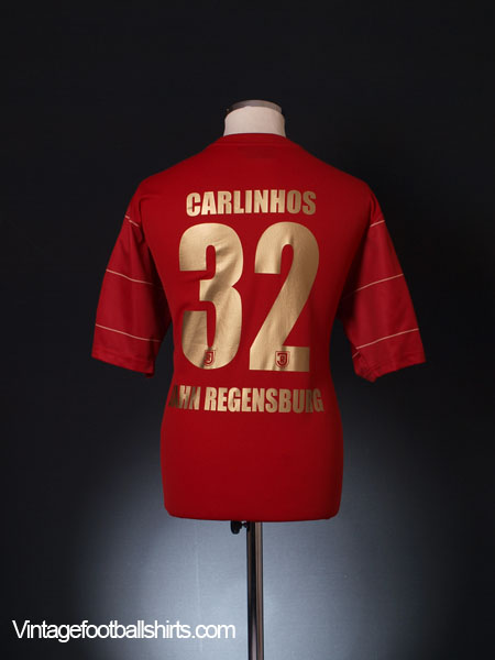 2012-14 Jahn Regensburg Away Shirt Carlinhos #32 L/XL