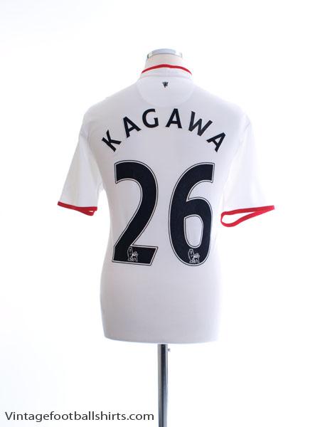 2012-14 Manchester United Away Shirt Kagawa #26 L - 479281-105