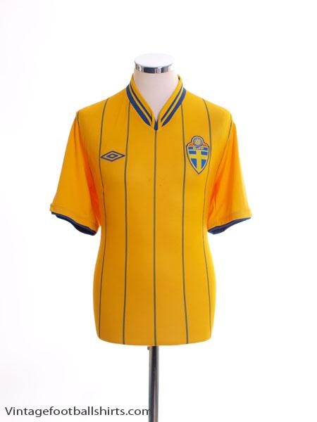 2012-14 Sweden Home Shirt M