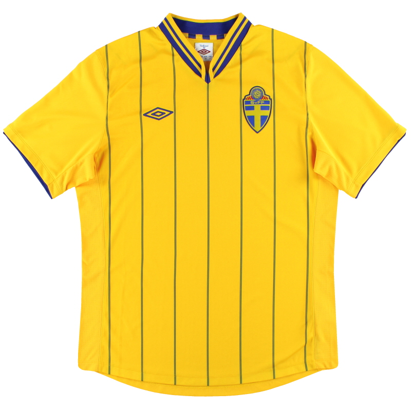 2012-14 Sweden Umbro Home Shirt L