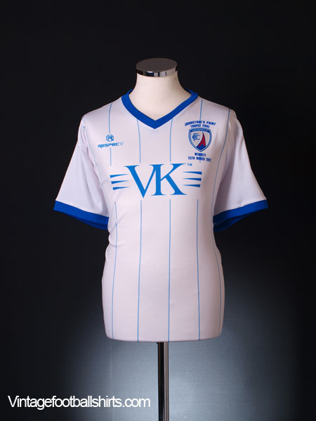 2012 Chesterfield 'Johnstone's Paint Trophy Final' *Mint* Away Shirt L