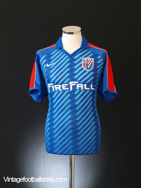 2012 Shanghai Shenhua Home Shirt XL