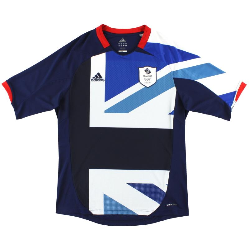 2012 Team GB adidas Olympic Home Shirt L