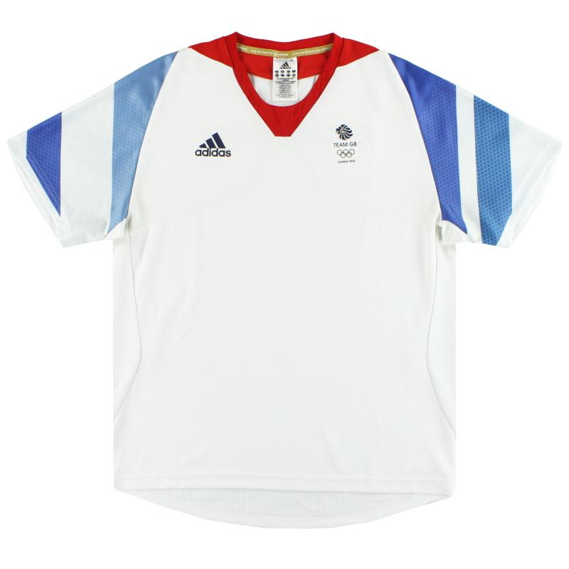 2012 Team GB adidas Olympic Player Issue Training Shirt M - W63281