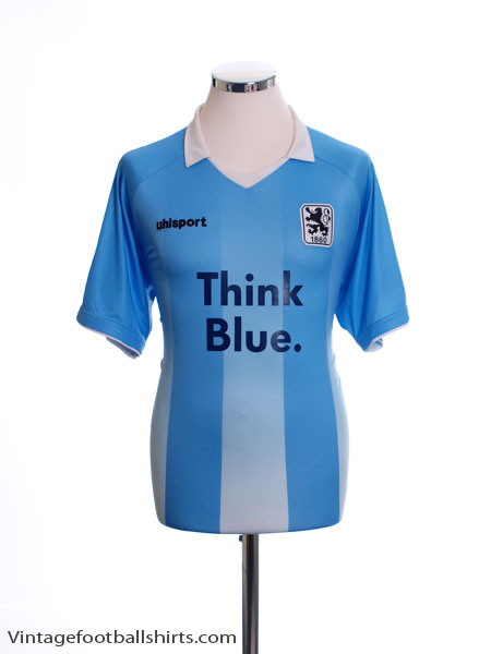 2013-14 1860 Munich Home Shirt *Mint* L