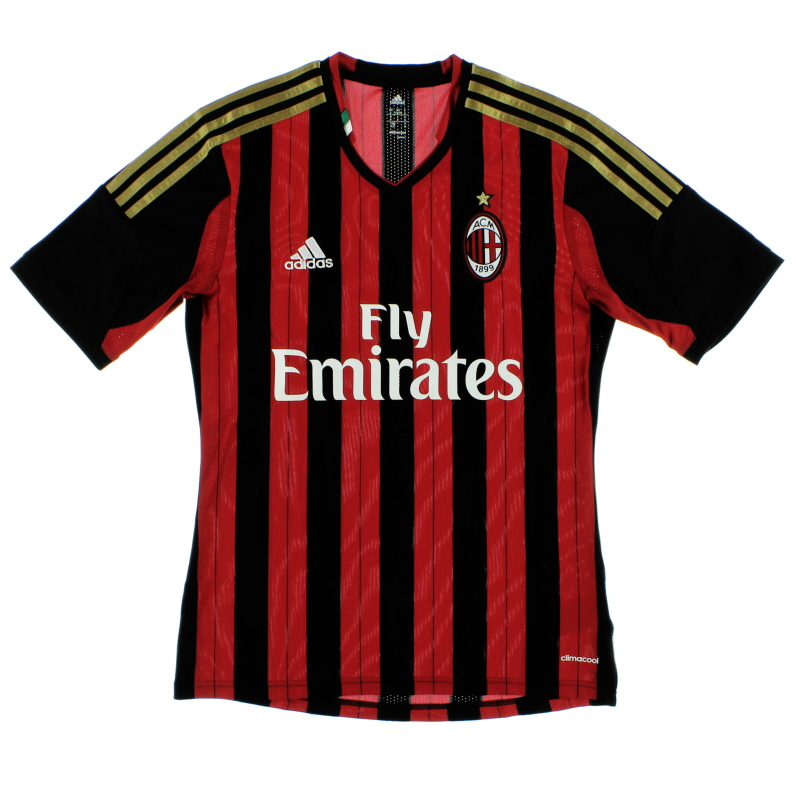2013-14 AC Milan Home Shirt *Mint* S - G77255