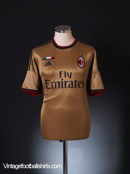 2013-14 AC Milan Third Shirt *BNWT* L