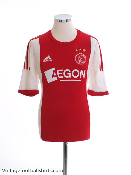 2013-14 Ajax Home Shirt M