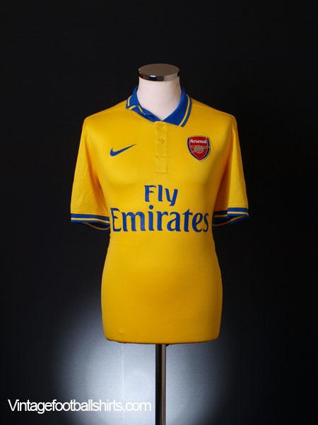 2013-14 Arsenal Away Shirt M