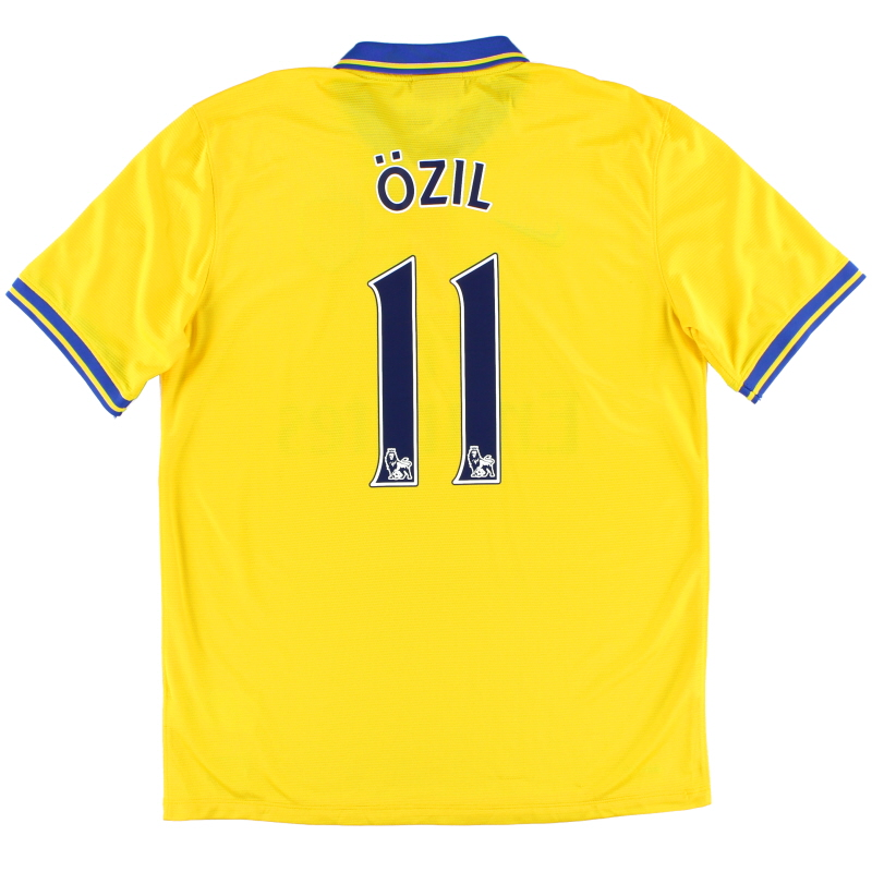 2013-14 Arsenal Away Shirt Ozil #11 L - 532866-750