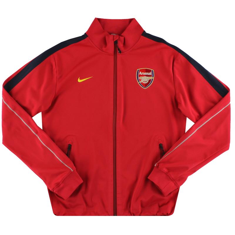 2013-14 Arsenal Nike N98 Track Jacket *Mint* S - 584080-618