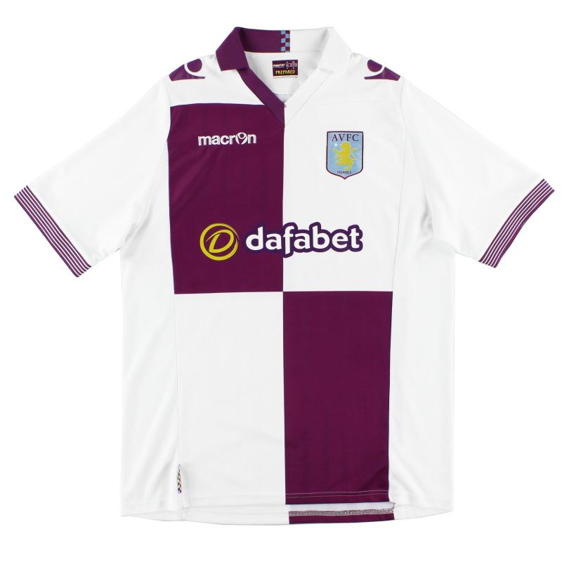 2013-14 Aston Villa Away Shirt XL