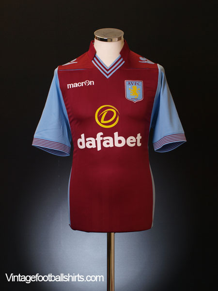 2013-14 Aston Villa Home Shirt L