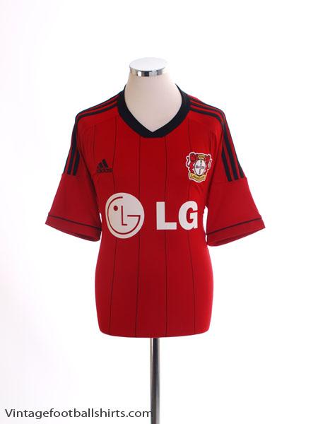 2013-14 Bayer Leverkusen Away Shirt *Mint* L