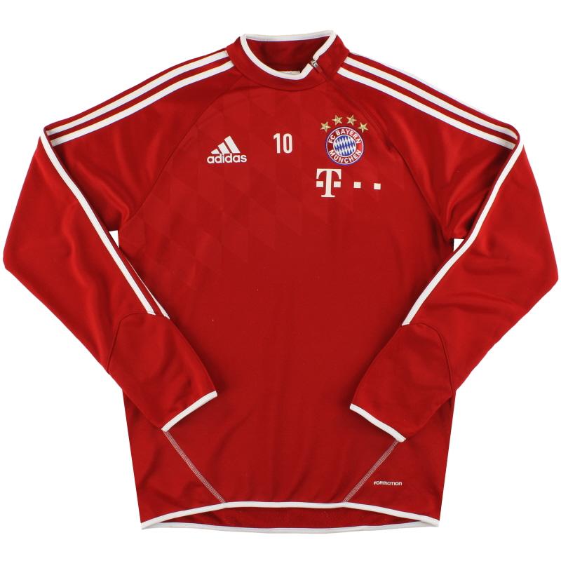 2013-14 Bayern Munich adidas Player Issue Training Top #10 M - G73607