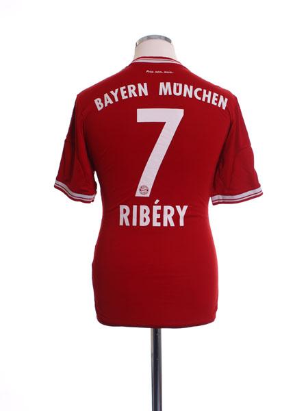 2013-14 Bayern Munich Home Shirt Ribery #7 S