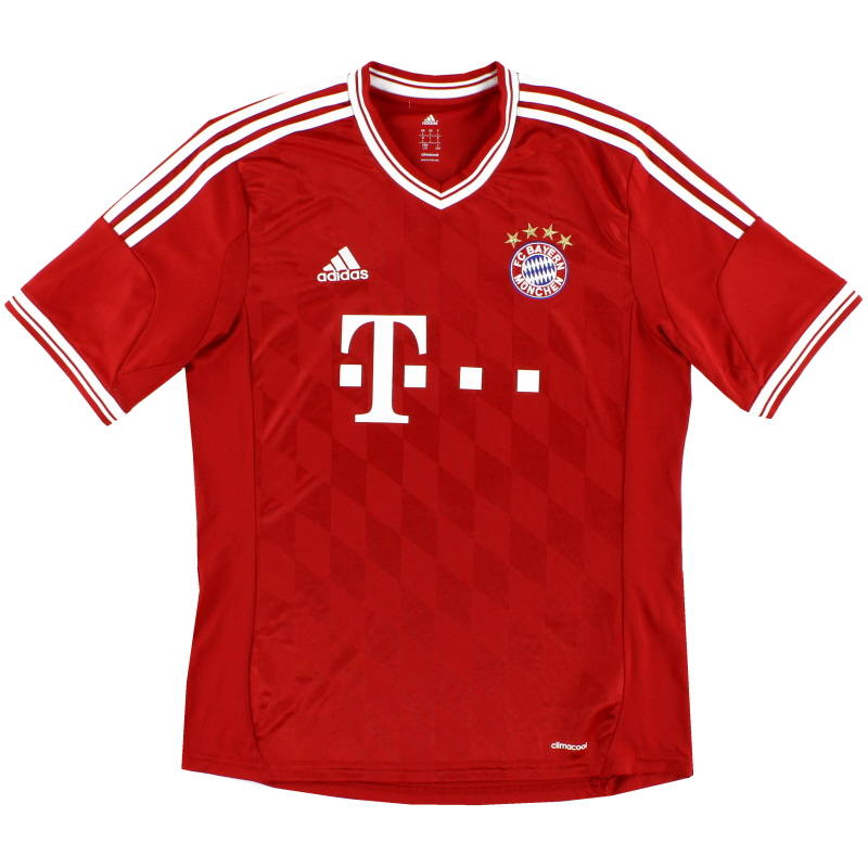 2013-14 Bayern Munich Home Shirt Y