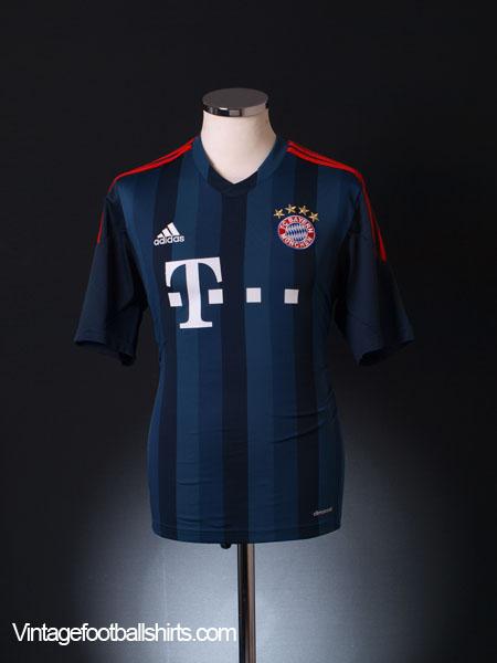 2013-14 Bayern Munich Third Shirt M