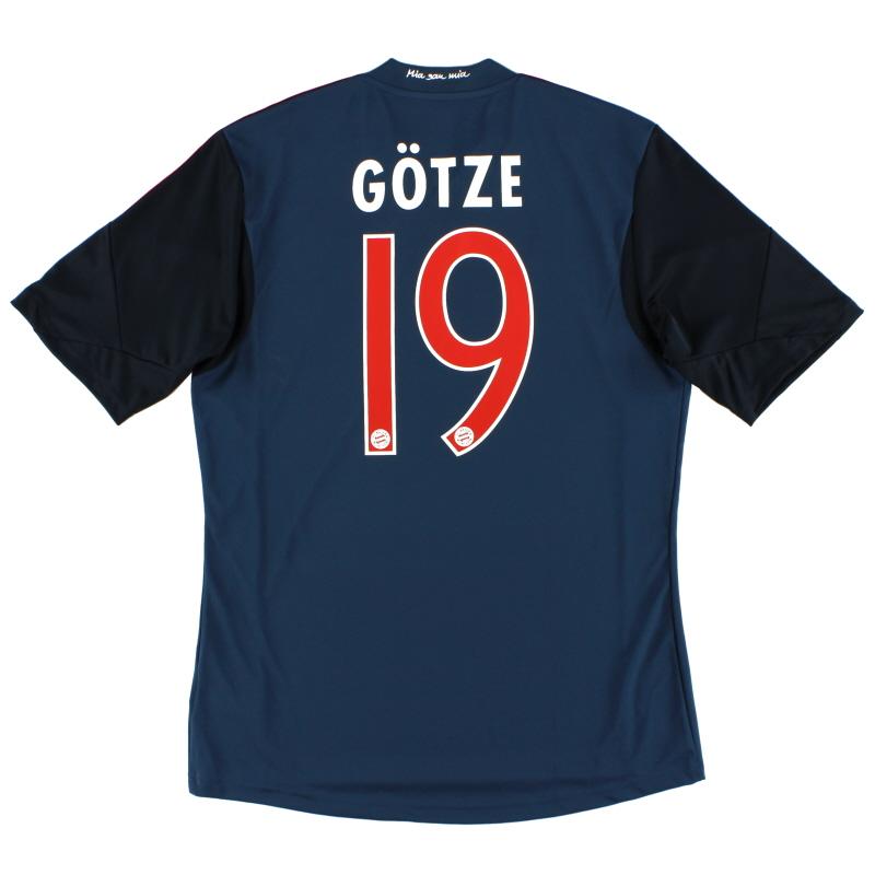 2013-14 Bayern Munich Third Shirt Gotze #19 M