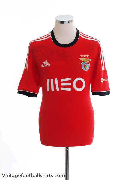 2013-14 Benfica Home Shirt *Mint* M