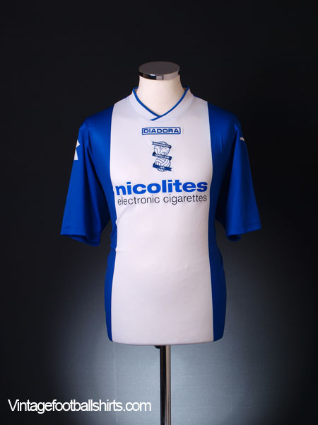2013-14 Birmingham Home Shirt *Mint* L