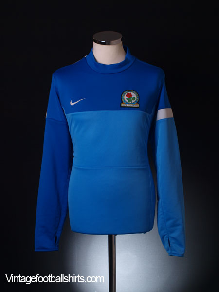 2013-14 Blackburn Player Issue Midlayer Training Top L