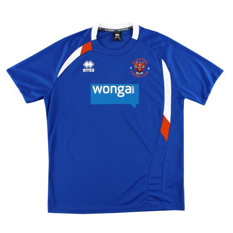 2013-14 Blackpool Training Shirt XL