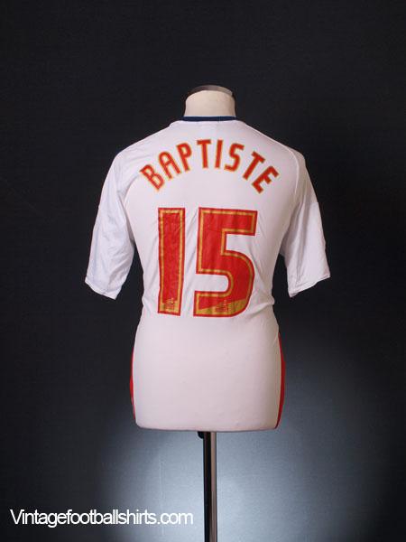2013-14 Bolton Home Shirt Baptiste #15 M