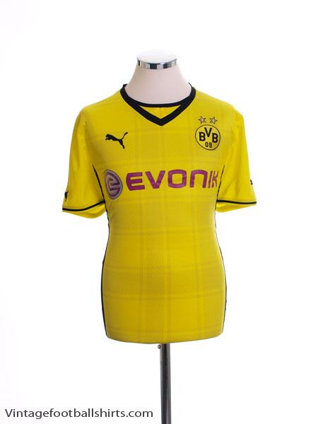 2013-14 Borussia Dortmund Home Shirt L