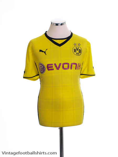 2013-14 Borussia Dortmund Home Shirt Womens 14