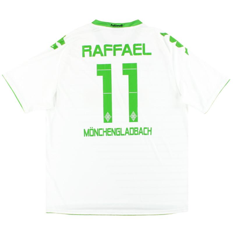 2013-14 Borussia Monchengladbach Kappa Home Shirt Raffael #11 *Mint* XXXL - 29824