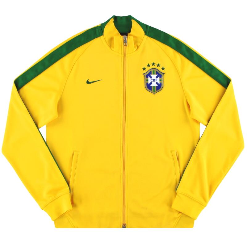 2013-14 Brazil Nike N98 Track Jacket M - 589852-703