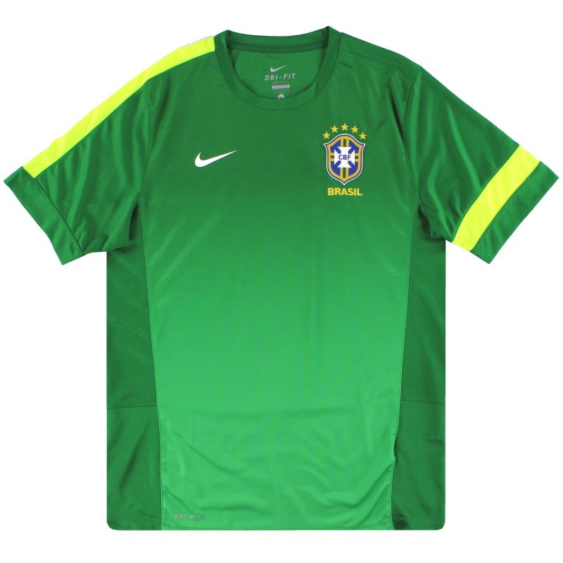 2013-14 Brazil Nike Training Shirt L - 518644-302