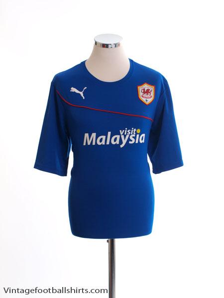 2013-14 Cardiff City Away Shirt L