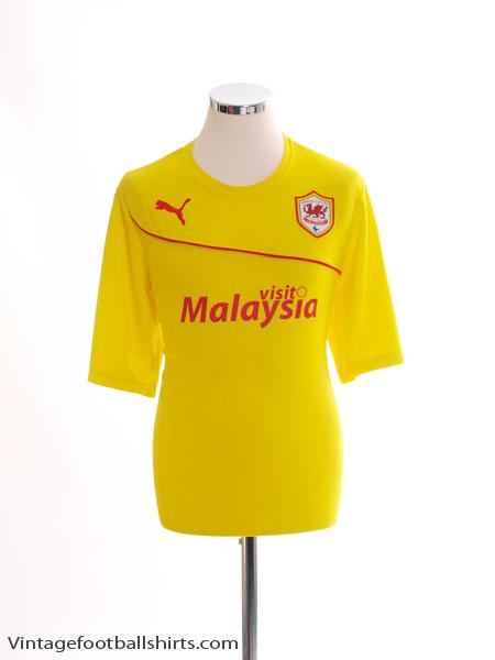 2013-14 Cardiff City Third Shirt L