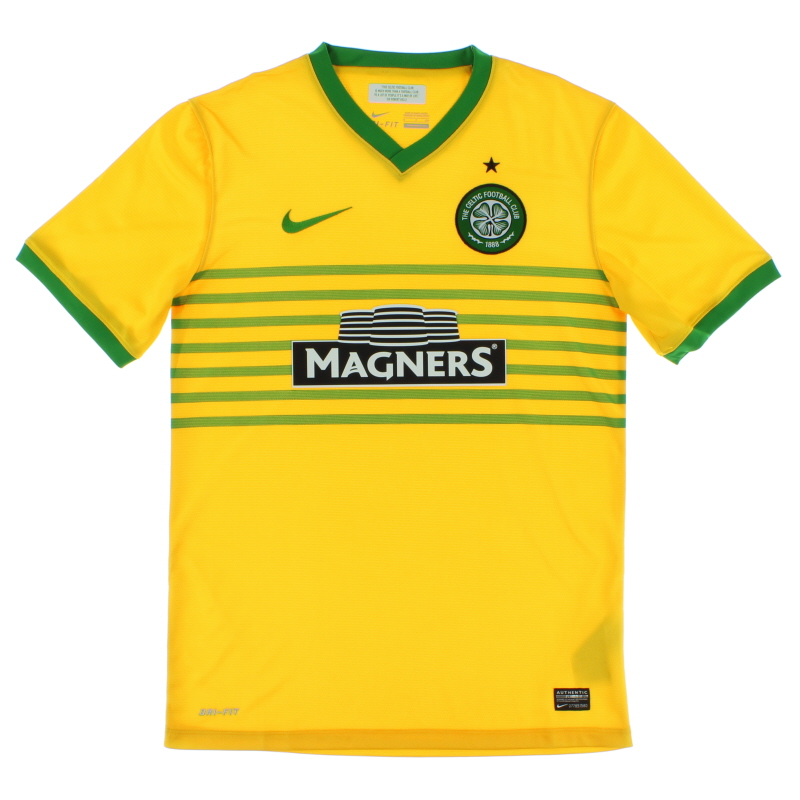 2013-14 Celtic Away Shirt S