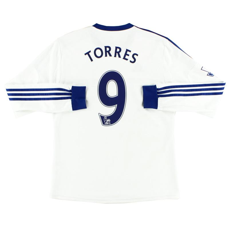 2013-14 Chelsea Away Shirt Torres #9 L/S M - G90260