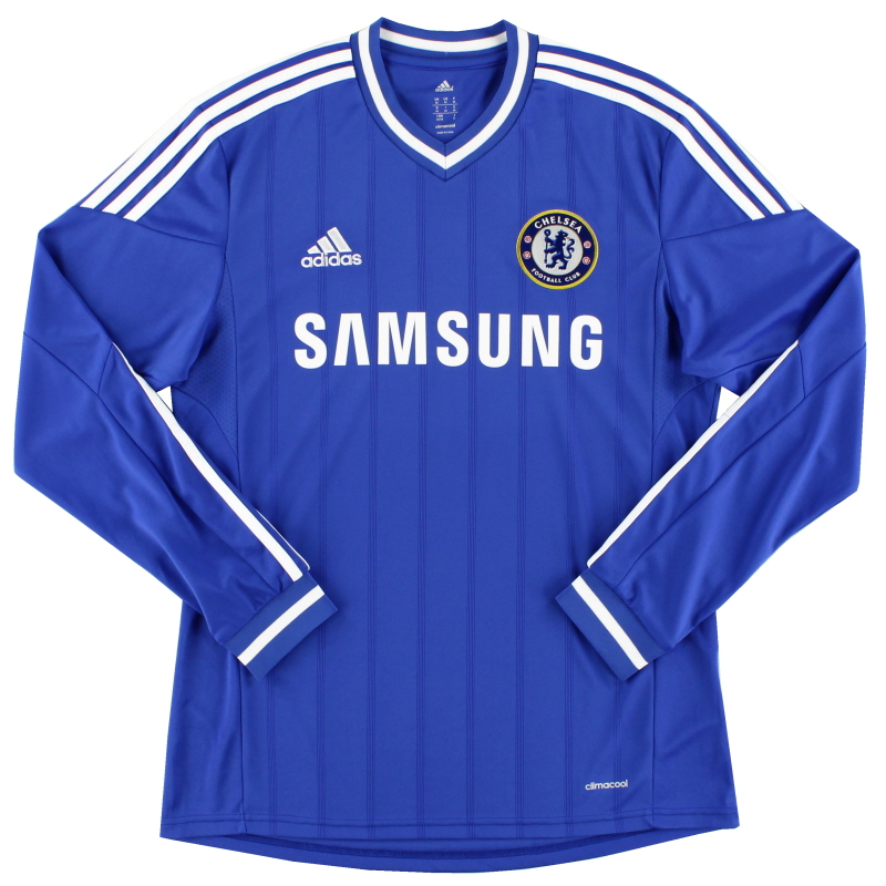 2013-14 Chelsea Home Shirt L/S *Mint* M - G90169