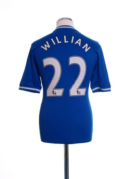 2013-14 Chelsea Home Shirt Willian #22 S