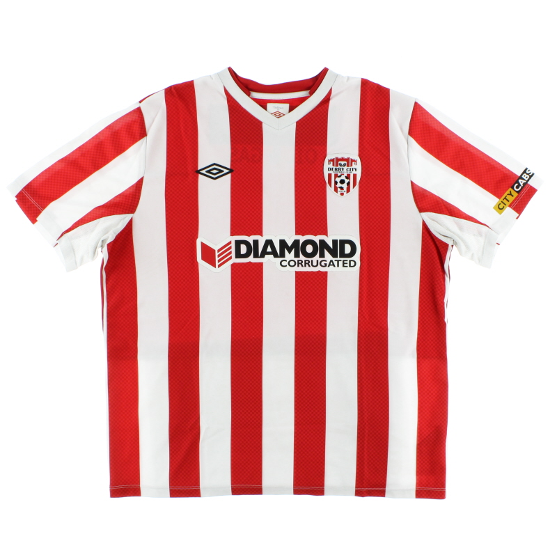 2013-14 Derry City Home Shirt XL