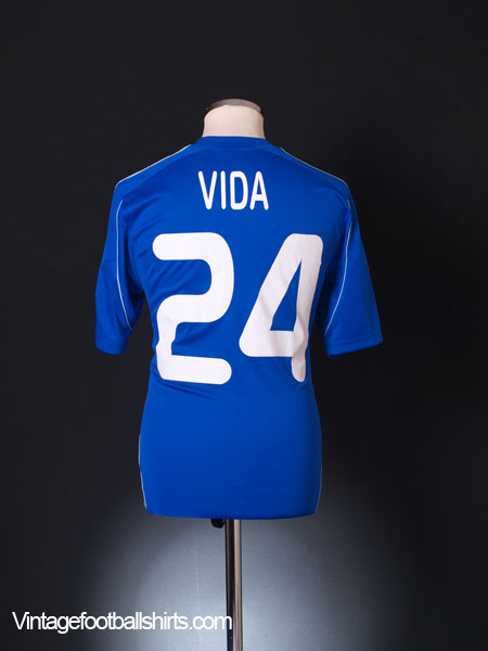 2013-14 Dynamo Kiev Match Issue Away Shirt Vida #24 M